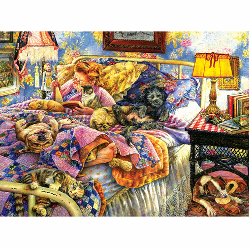 Pet Bed - 1000pc Jigsaw Puzzle by Sunsout