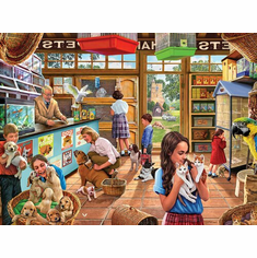 Pet Shop - 1000pc Jigsaw Puzzle by White Mountain