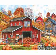 Pick Your Own Pumpkin - 1000pc Jigsaw Puzzle By Sunsout