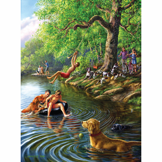 Places Remembered Summer - 1000pc Jigsaw Puzzle by SunsOut