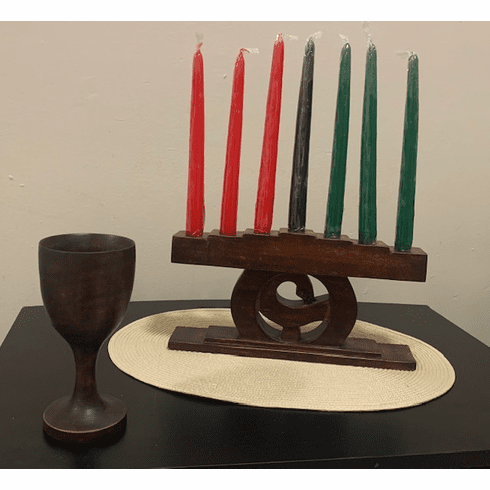 Sankofa Brown Kwanzaa Set