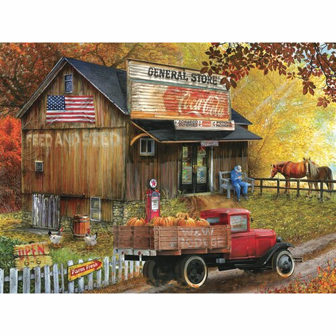 Seed and Feed General Store - 300pc Jigsaw Puzzle By Sunsout NEW