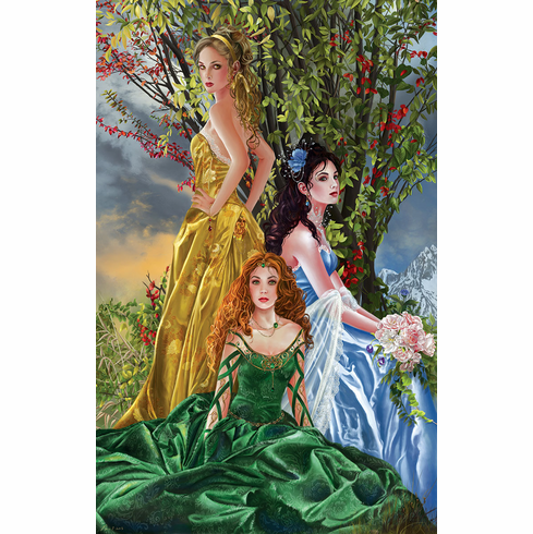 Sisters of Illymar - 1000pc Jigsaw Puzzle By Sunsout