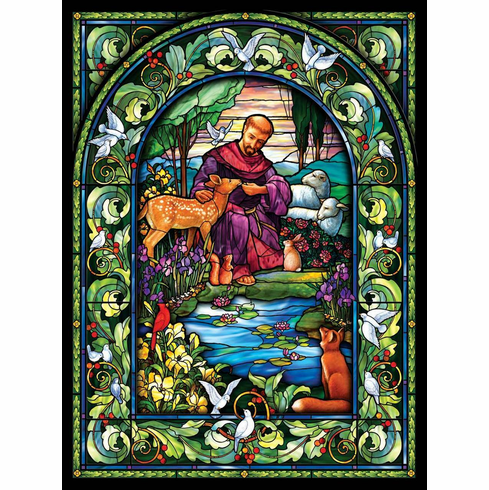 St. Francis - 1000pc Jigsaw Puzzle by Sunsout