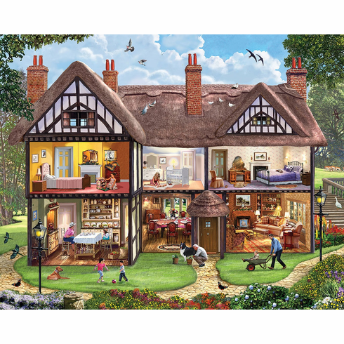 Summer House - 1000pc Jigsaw Puzzle by White Mountain