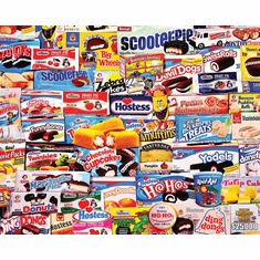 Tasty Treats - 1000pc Jigsaw Puzzle By White Mountain