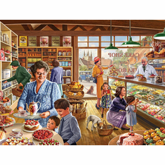 The Cake Shop - 1000pc Jigsaw Puzzle by White Mountain