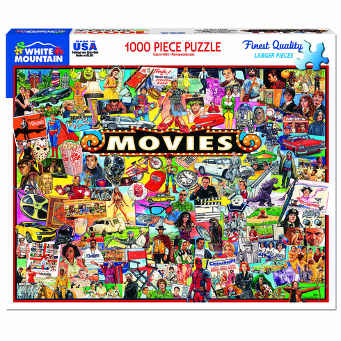 The Movies 1000 Piece White Mountain