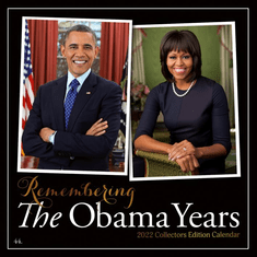 The Obama Years 2022 African American Wall Calendar