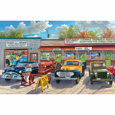 The Old Rustic Inn - 1000pc Jigsaw Puzzle By Sunsout