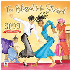 Too Blessed Wall Calendar
