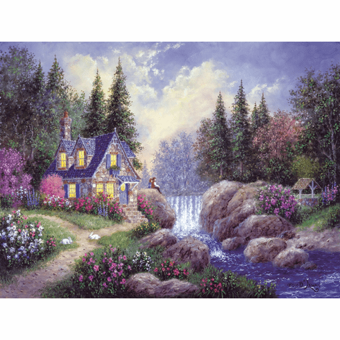 Watching the Falls - 300pc Jigsaw Puzzle By Sunsout