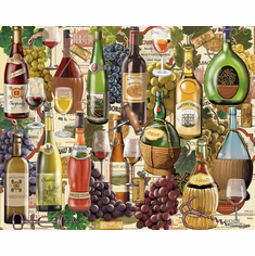 Wine Country - 1000pc Jigsaw Puzzle by White Mountain