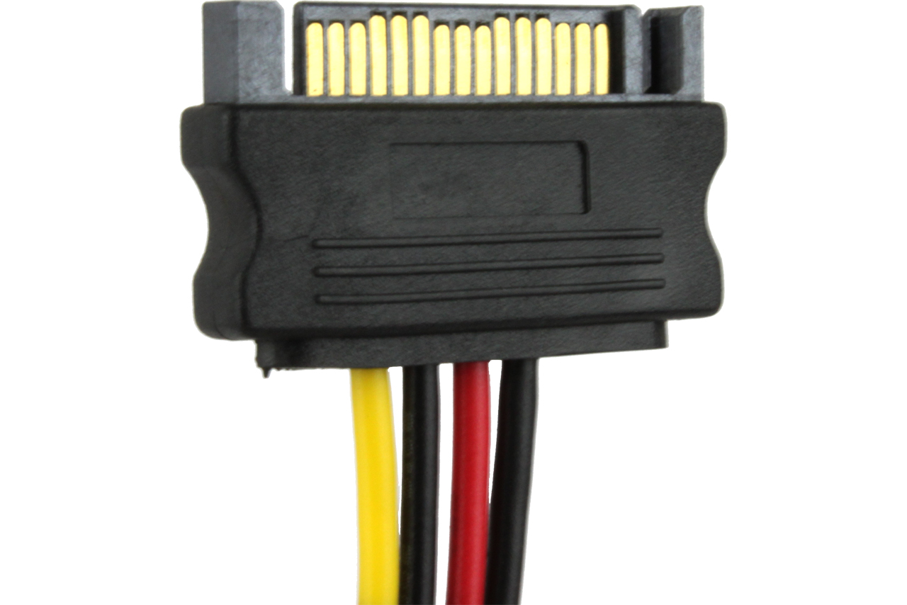 15-pin-sata-power-cable-with-4-pin-socket-connector-3-pack-115  Wire Pin Sata Wiring Diagram on