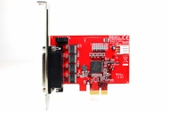4-Port PCI Express RS232 (16C950 UART) Low Profile Host Adapter Card