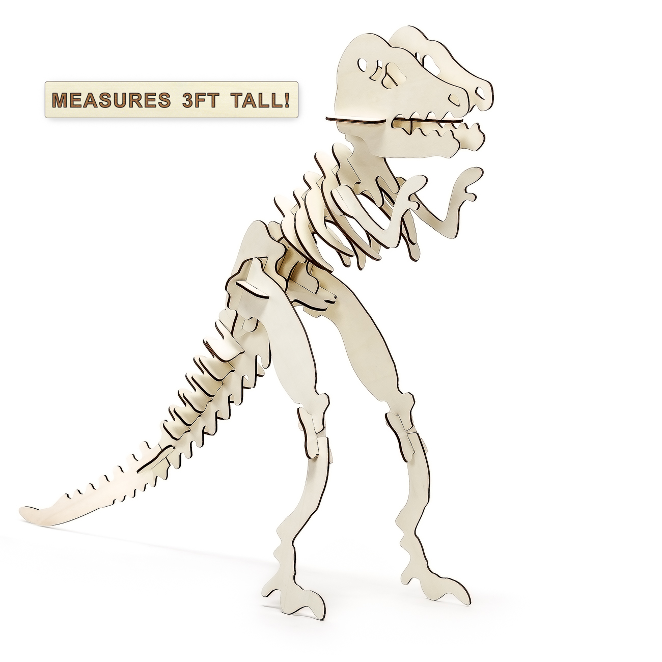 Large T Rex 3d Wooden Jigsaw Puzzle Prosumers Choice