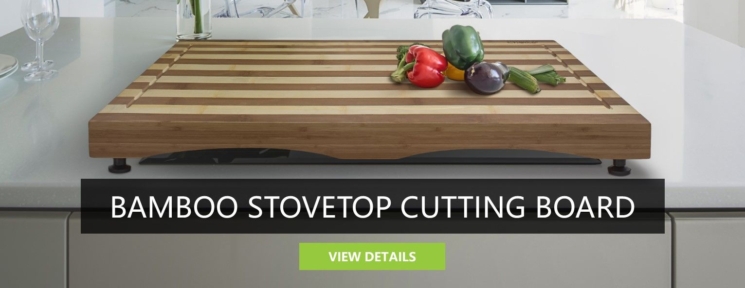 Bamboo Stovetop<BR>Cutting Board