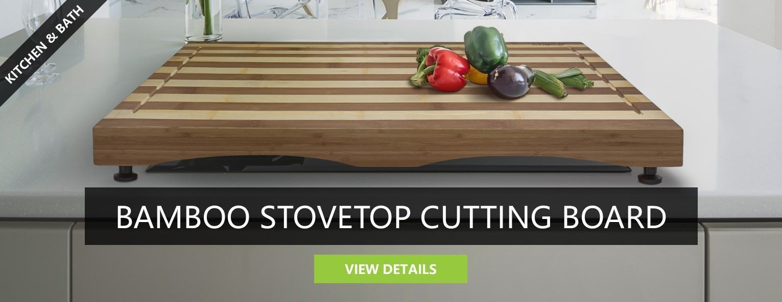 Bamboo Stovetop Cutting Board