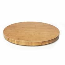 Prosumer's Choice 360 Rotating Bamboo Swivel Stand, Lazy Susan for LED LCD TVs or Monitors 16.5 Inch