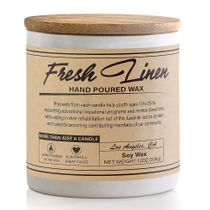 Prosumer's Choice Fresh Linen Hand Poured Small Batch Soy Wax Candle