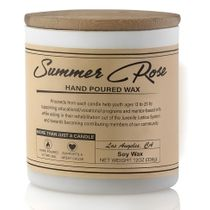 Prosumer's Choice Summer Rose Hand Poured Small Batch Soy Wax Candle