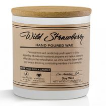 Prosumer's Choice Wild Strawberry Hand Poured Small Batch Soy Wax Candle