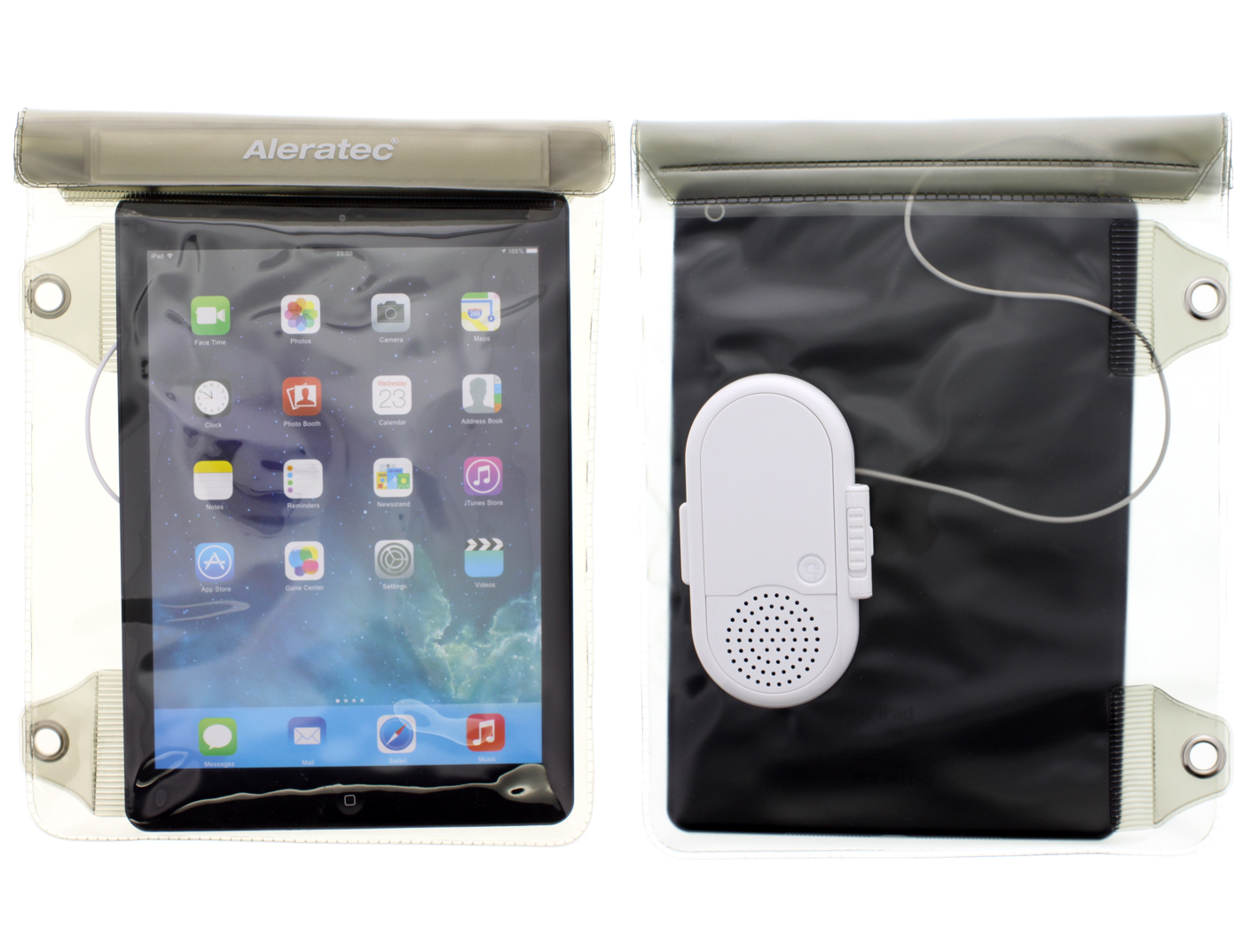 f3957d9aa108 Aleratec Water-resistant Dry Bag Pouch with Speaker for iPad