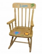 Hand Painted Personalized Child's Rocking Chair