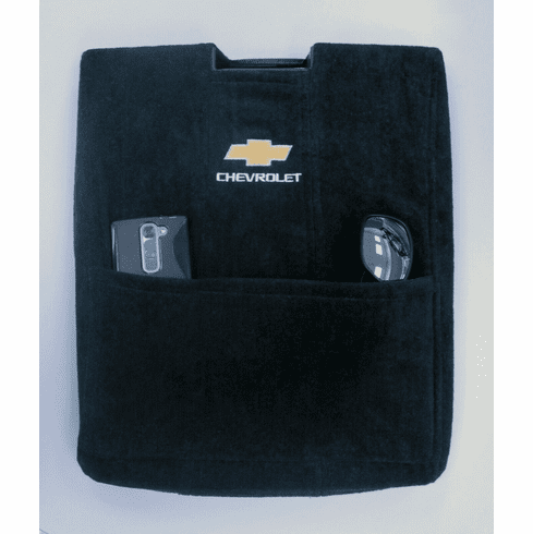Seat Armour Console Cover w/ Chevy Logo - Fits Jump Seat 2007-2013