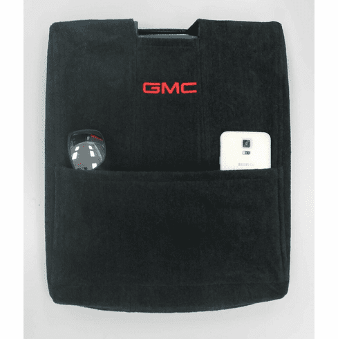 Seat Armour Console Cover w/ GMC Logo - Fits 2007-2013 Bucket Seat