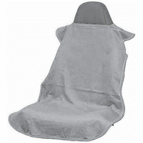 Seat Armour Seat Cover w/ No Logo -Gray- Fits Most All Bucket Seat