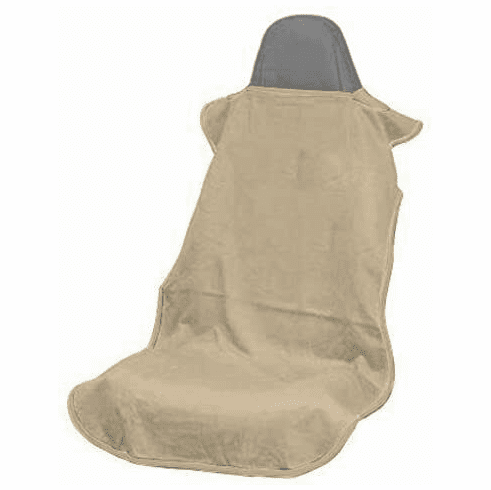 Seat Armour Seat Cover w/ No Logo -Tan- Fits Most All Bucket Seats