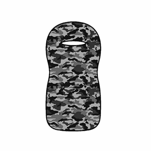 Seat Armour Seat Protector Cover/Towel - Black/Gray Camo Seat Cover