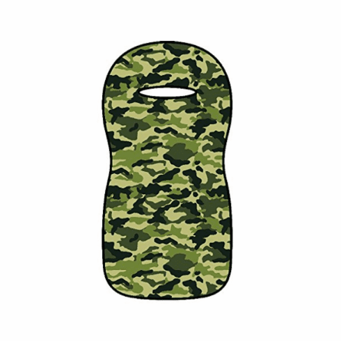 Seat Armour Seat Protector Cover/Towel - Green Camo Seat Cover