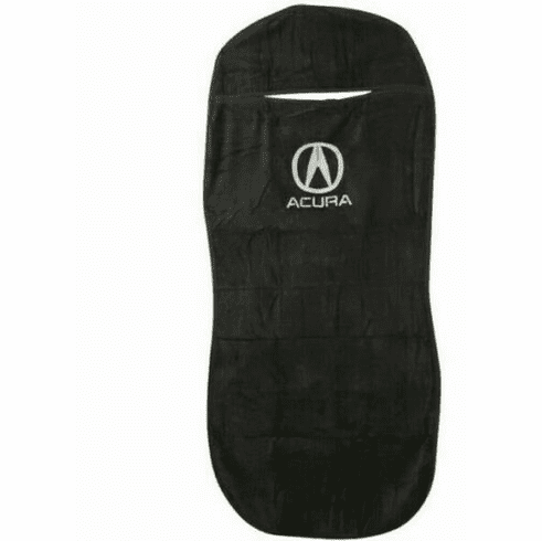 Seat Armour Seat Protector Cover/Towel w/ Acura Logo - Black