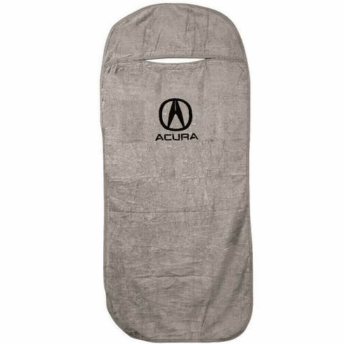 Seat Armour Seat Protector Cover/Towel w/ Acura Logo - Gray