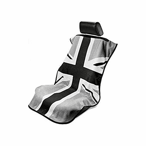 Seat Armour Seat Protector Cover/Towel w/ British Flag Logo