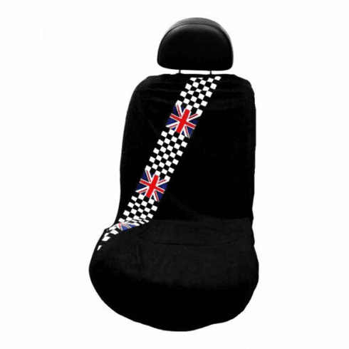 Seat Armour Seat Protector Cover/Towel w/ NCheckered Flag Logo