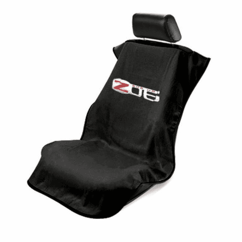 Seat Armour Seat Protector Cover/Towel with C6 Corvette Z06 Logo