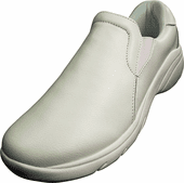 Natural Uniforms Slip-On Leather Nursing Shoes