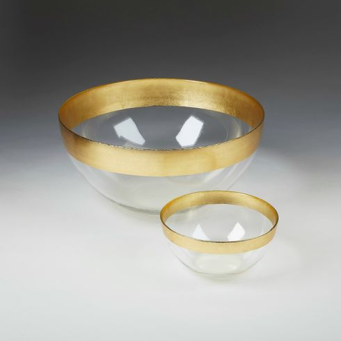 "Celebration 12"" Bowl Gold Band"