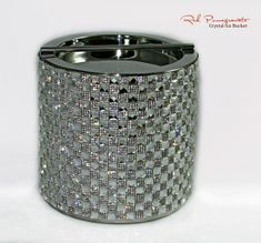 Crystal Rhinestone 3 qt Ice Bucket