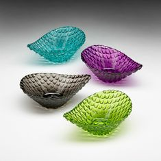 Demi Serving Bowls Set of 4 Assorted Colors