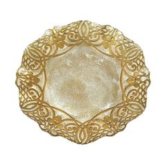 "Geneve 13"" Charger Plate Gold"