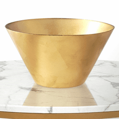 "GILT BASIC 11"" Gold Gilded Serving Bowl"