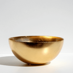 "GILT PREMIERE Gold Gilded 8"" Bowl"