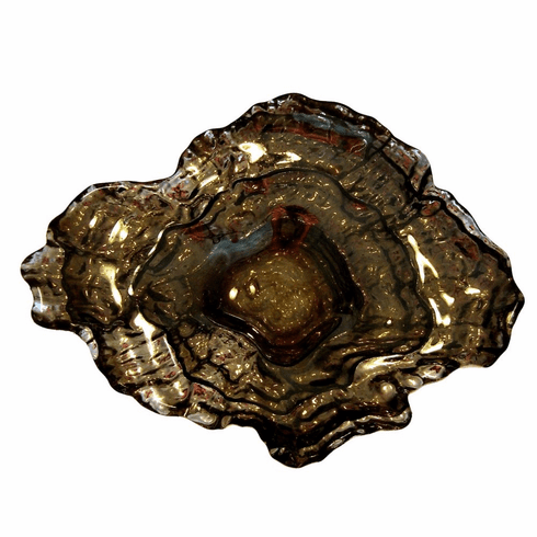 """OYSTER 9"""" Platinum Small Bowl"""