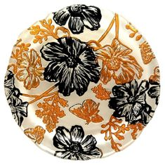 "PAPILLON 8"" Cream Side Plate"