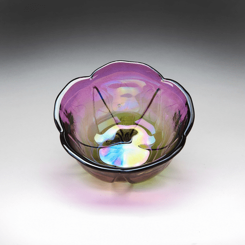 """Poppy 3.4"""" Bowl Two Tone Orchid"""