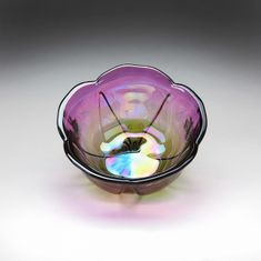 "Poppy 3.4"" Bowl Two Tone Orchid"